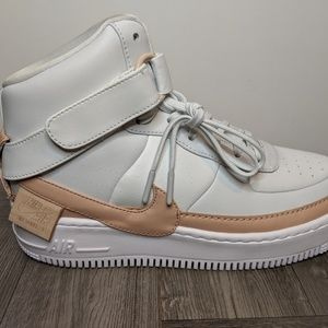 Nike Shoes - Nike Air Force 1 Jester High XX White AR0625-101